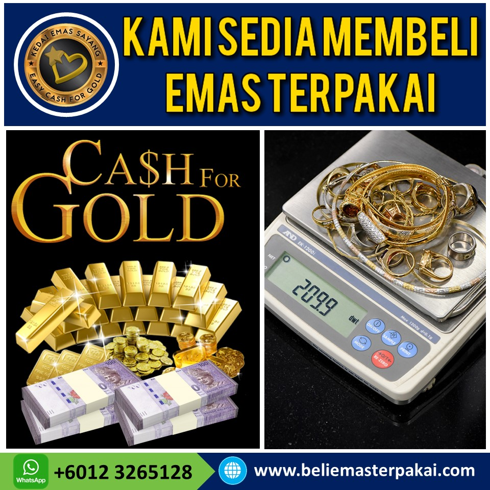 Beli Emas Terpakai Putrajaya