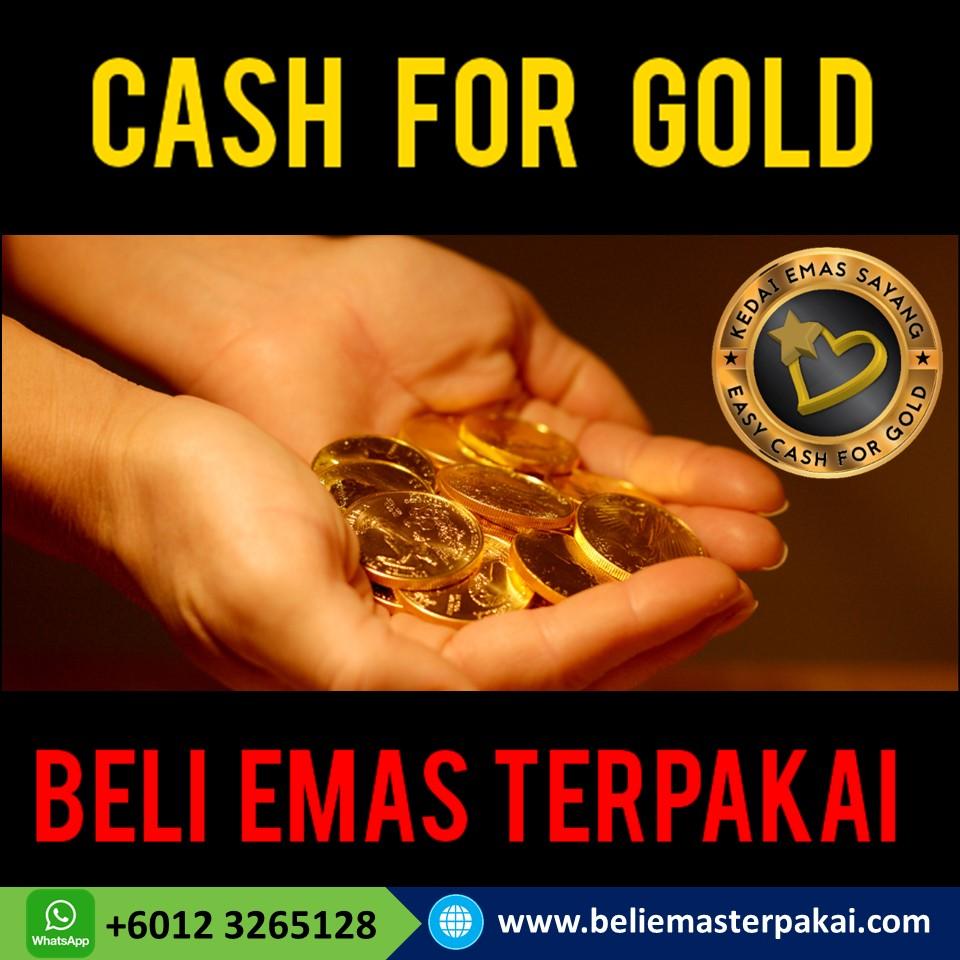 Beli Emas Terpakai Petaling Jaya